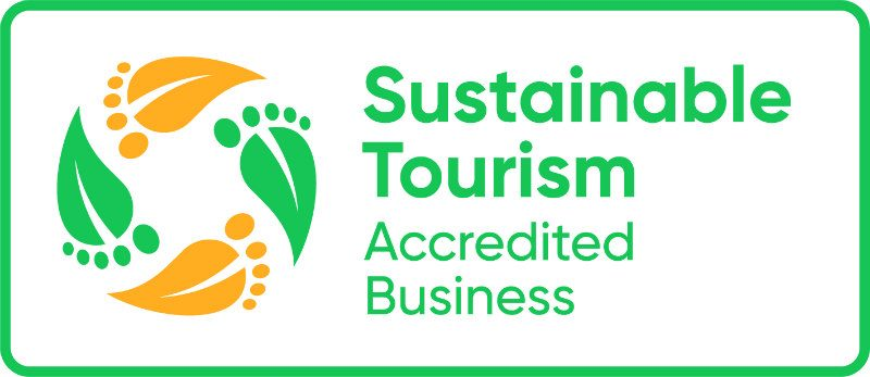 Sustainable Tourism Accredited Business logo